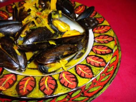 Dill-Turmeric Mussels-1